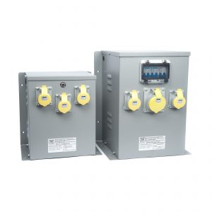 Wall or Floor Mounted Transformers with 110V Sockets