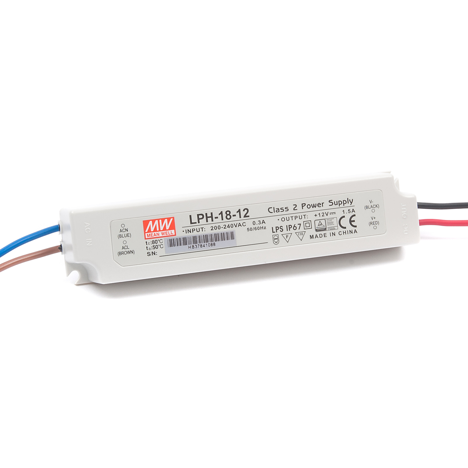 Lph 18 Watt Led Power Supply To Ip67 12v Dc Ac Converter Module Accessories Drivers Transformer And Enclosure Control Panel 12
