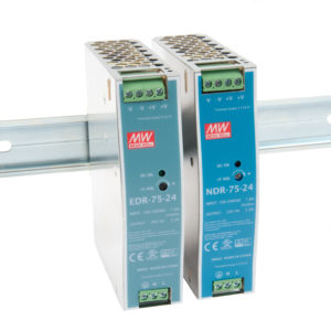 Mean Well EDR and NDR Economical DIN Rail Switch-Mode Power Supplies