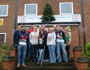 ETE Xmas Jumper Day 2017 Photocall