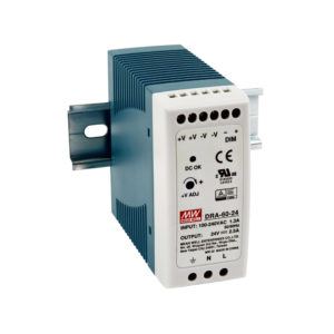 DIN Rail AC to DC Output Programmable Power Supplies